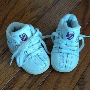 K Swiss infant shoes, size 2